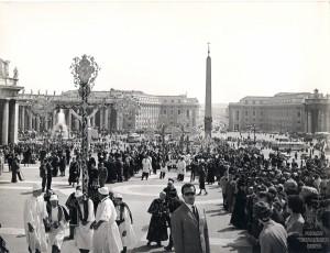 Cristo di S Cipriano Roma 1960
