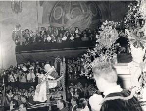 Giovanni 23° benedice Roma 1960