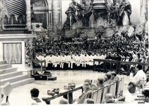 Basilica S Pietro Roma 1975