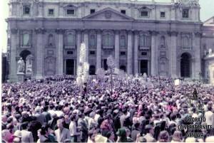 Cristi in Piazza S Pietro Roma 1975
