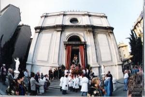 Madonna della Guardia esce da S Zita