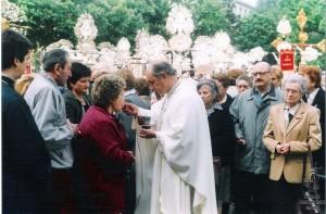 Genova Raduno piazza Carignano2000