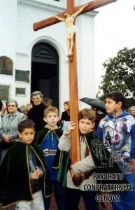 14,Ragazzi Porta-Cristo ad Arroyo Seco