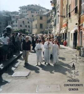 Nervi festa di S Francesco da Paola arrivo processione