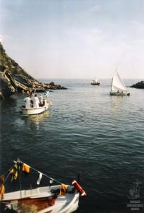 Partenza processione in mare S Francesco 2009